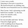 I Once Was a Youth (image of poem)