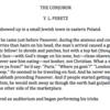 The Conjuror Excerpt